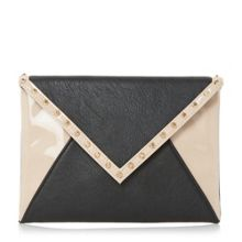 Dune Barcel studded envelope clutch bag