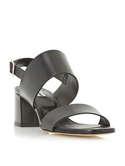 Jester front strap mid heel sandals