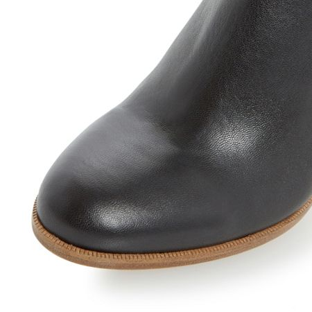 Dune Black Oliva clean ankle boots