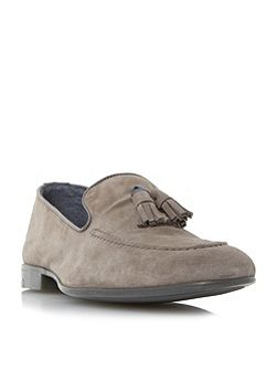 Remmy suede tassel loafer