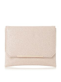 Bidwell flapover clutch bag