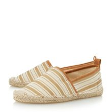 Head Over Heels Glyde striped closed espadrille shoes
