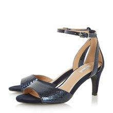 Linea Milda two part mid heel sandals
