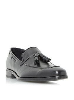 Rivers double tassel leather loafers
