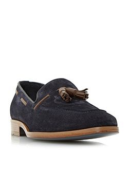 Rivers double tassel leather loafer