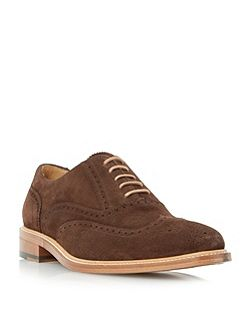 Dune Black Sunbeam oxford lace up brogues