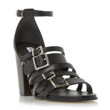 Dune Jairo buckle strap high heel sandals