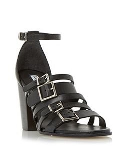 Jairo buckle strap high heel sandals