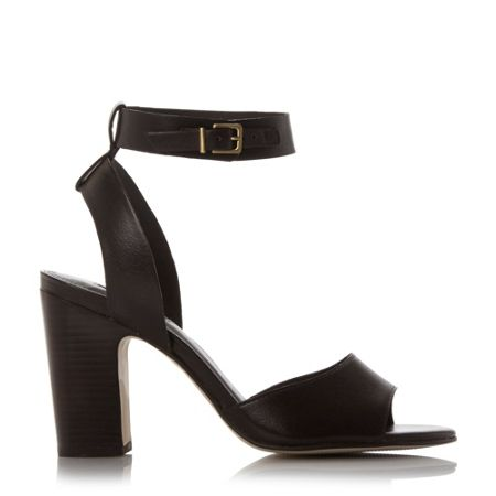 Dune Jamila two part ankle strap sandals