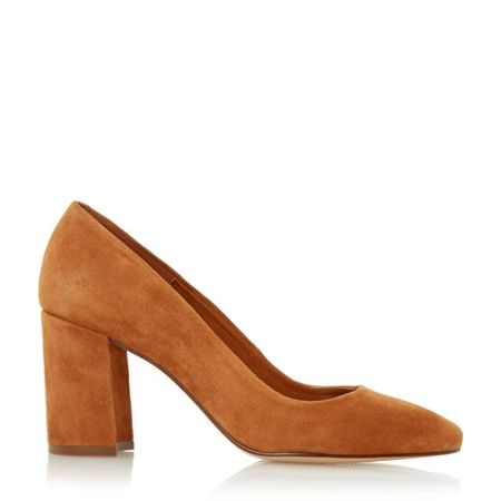 Dune Abell black court shoes
