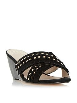 Kristine cross over wedges