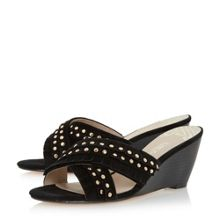 Biba Kristine cross over wedges