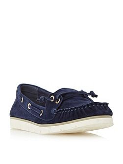 Galley lace up boat shoes
