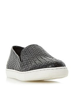 Banjo woven slip on shoes