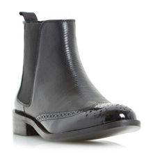 Quentin brogue chelsea boots