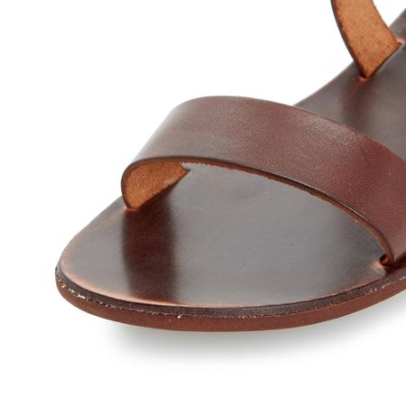 Dune Lotti slotted flat sandals