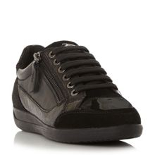 Geox D myria zip detail trainers