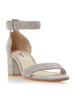 Jaygo two part block heel sandals