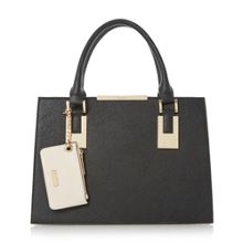 Dune Deedee colour block structured handbag