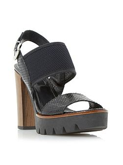 Jaye cleated platform sandals