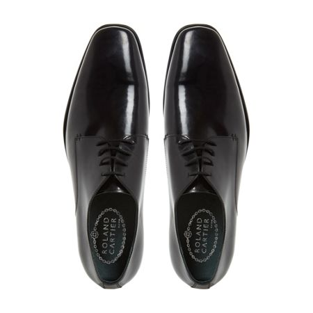 Roland Cartier Robins plain chisel toe gibson shoes