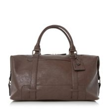 Dune Philip buckle strap detail holdall