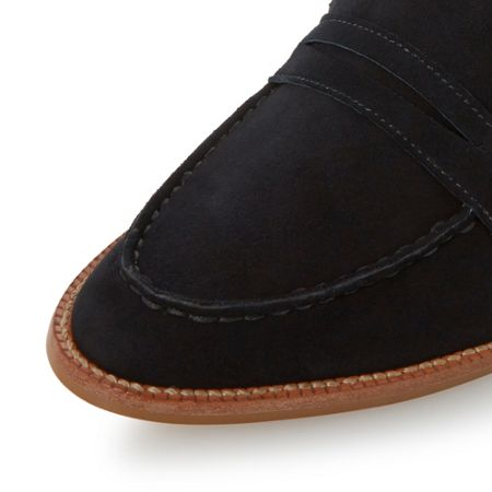 Dune Gandy unlined loafers