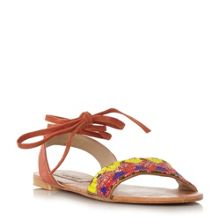 Steve Madden Shaney beaded flat sandals