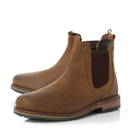 Barbour Cullercoats heavy chelsea boots