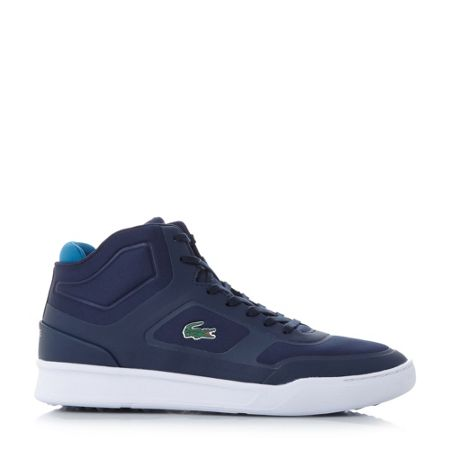 Lacoste Explorateur mid cut cupsole trainers