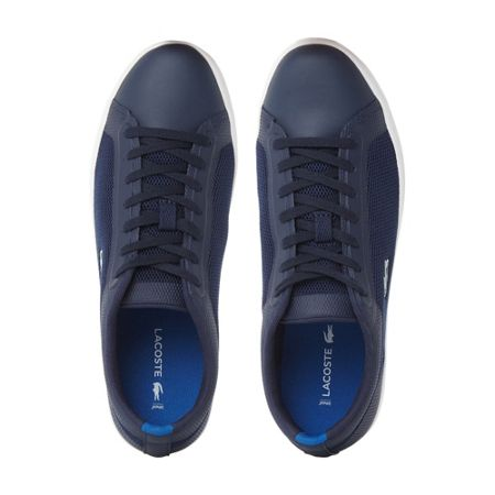 Lacoste Straightset mesh cupsole trainers