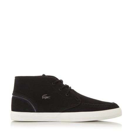 Lacoste Sevrin apron stitching lace up boot