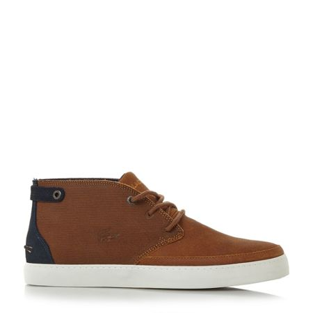 Lacoste Clavel cupsole chukka boots