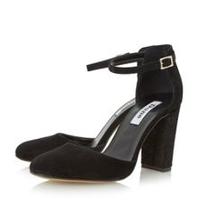 Dune Cairo 2 part block heel sandals
