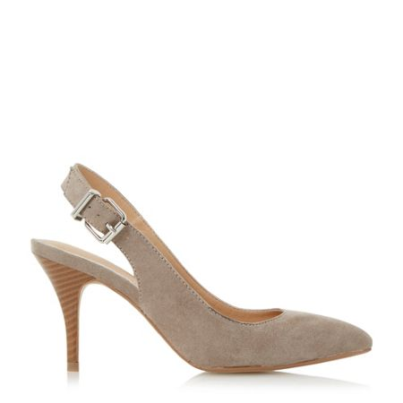 Head Over Heels Cissy buckle detail open court shoes