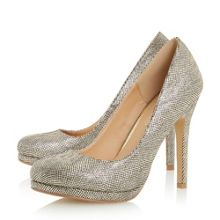 Head Over Heels Andrea round toe platform court shoes