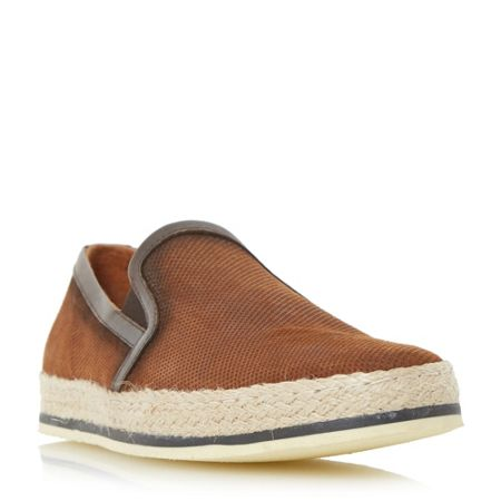 Bertie Brie espadrille slip on shoes
