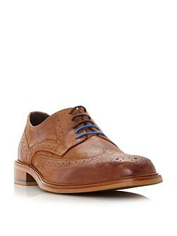 Baxter wingtip brogue shoes