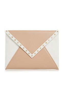 Barcel studded envelope clutch bag