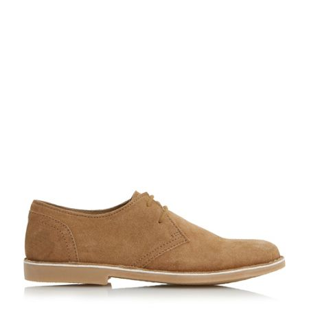 Howick Brambell round toe derby shoe