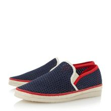 Dune Falmouth mesh detail espadrille shoes