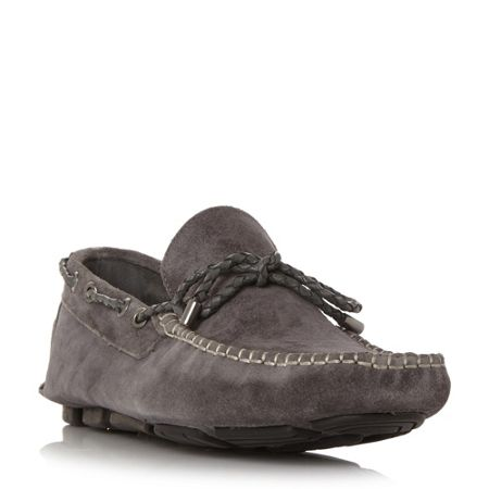 Linea Bicester woven driver shoes
