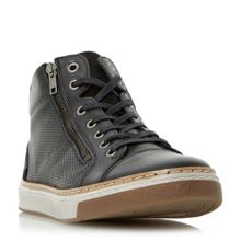 Dune Spectrum side zip high top  trainers