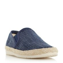 Dune Flipper canvas espadrille shoes