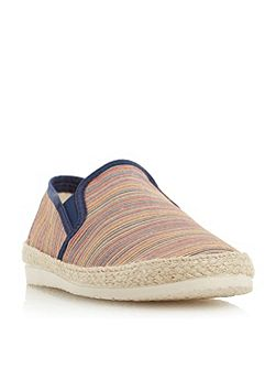Fraser island striped espadrille shoes