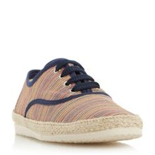 Dune Fraser island striped espadrille shoes