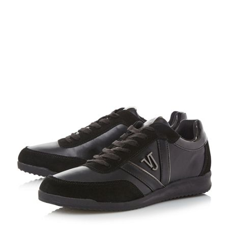 Versace Jeans Yobsb1 vj logo leather trainers