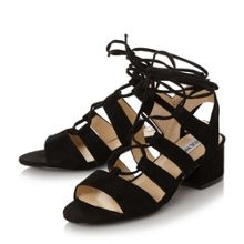 Steve Madden Kittyy block heel ghillie sandals