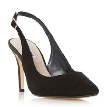 Dune Cathy slingback mid heel court shoes