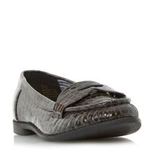 Head Over Heels Guila croc loafers